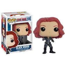 Black Widow Vinyl POP Action Figure Collectible Doll Toy Decoration - $15.95