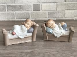 Nao by Lladro 1503 Cosy Dreams  & 1503 Snuggle Dreams New - $175.00
