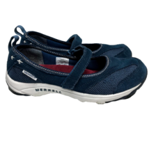 Merrell Majolica Blue Mary Janes Women's Flats Slip Ons Navy Performance US 7 - $42.61