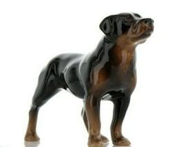 Hagen Renaker Dog Rottweiler Ceramic Figurine