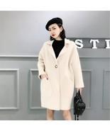 Artificial Mink Cashmere Comfortable Long Sweater 2019 Winter Warm Cardi... - $81.60