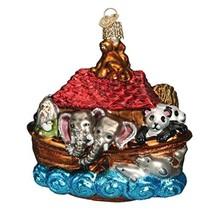 Old World Christmas Ornaments: Noah's Ark Glass Blown Ornaments for Chri... - $23.22