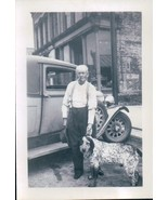 A Man And His Dog In Town 1930s - £6.50 GBP
