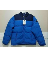 NWT AMERICAN EAGLE Blue Coat Puffer Down Winter Jacket AE Extra Large Tall XLT - $110.77