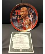 Michael Jordan Return To Greatness Collector's Plate. by Glen Green NIB COA - $197.99