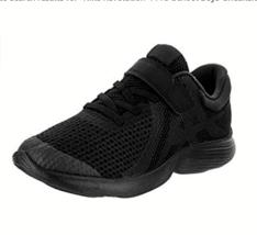 NIKE Revolution 4 (PSV) Boys Shoes Black/Black Size 13C 943305 004 - $34.77