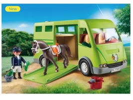 Playmobil Horse Transporter 6928 - $48.00