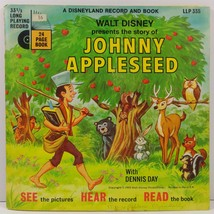 Walt Disney Presents the Story of Johnny Appleseed A Disneyland Record a... - $3.99