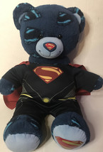 """Build A Bear Superman Man of Steel Plush Teddy Bear DC Comics 18"""" *WITH OUTFIT* - $16.82"""