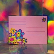 Vintage Lisa Frank Happy Smilies Smiley Face  Single Envelope