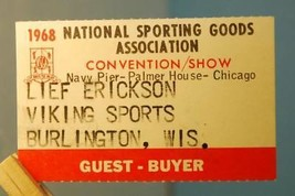 1968 National Sporting Goods Assc. Convention Palmer House Navy Pier Chi... - $3.95