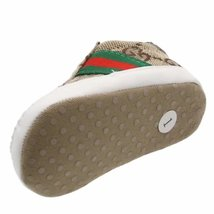 Brown Unisex Baby Soft Bottom Indoor Shoes 0-18 Months Walking Shoes G393 image 6