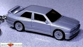 KEY CHAIN SILVER BMW SERIES 316/318i/320i/323i/325i M3 COUPE E30 NEW LTD... - $34.98
