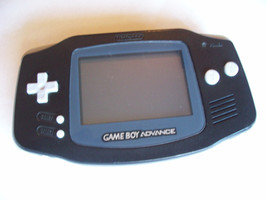 Nintendo GameBoy Advance Handheld System  - BLACK -  NEW SCREEN COVER - $39.99