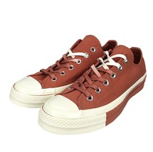 Converse Chuck 70 Ox Low Top Shoe Two Tone Terracotta Red Canvas Sneaker... - $34.99