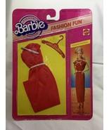 NIB BARBIE DOLL 1983 VINTAGE FASHION FANTASY HOLIDAY HOSTESS 4803 Red dress - $19.00