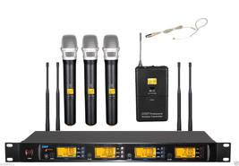 Wireless Handheld Headset Microphone Mic UHF 610-670MHz Digital Frequenc... - $324.47