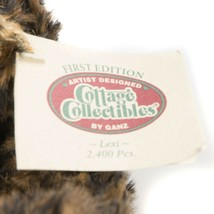 """Ganz Cottage Collectibles Lexi Teddy Bear 11"""" First Edition Scarf Tag CC1801 image 2"""