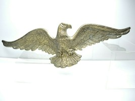 """Solid Brass EAGLE Wall Hanging Wall Plaque Decor 19"""" Wingspan~ #7020 Vi... - $79.19"""