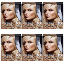 6-New Clairol Nice'n Easy Perfect 10 Permanent Hair Color, 10 Lightest B... - $98.99