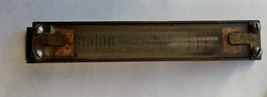 Vintage Antique Spirit Water Level Brass Case Glass Vial Surveying Mason... - $23.36