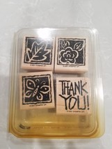 2001 Retired Stampin Up 4  Stamps Retired NEW - $8.90