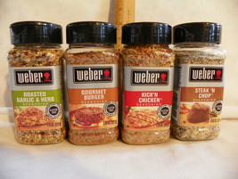 Weber Seasonings - Choice Gluten free Burger, Steak, Chicken, Garlic Parmesan - $12.99