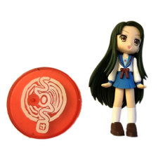 Unknown School Girl Anime Character Figure  - $4.88