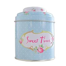 Kylin Express Unique Style Double-Deck Lids Tin Tea Canister Tea Storage Contain - $13.32