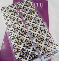 Jamberry Deco 40AV1 Heat Activated Nail Wrap Full Sheet - $12.61