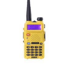 Baofeng uv-5r cb yellow radio transciver 128ch 5w handheld hunting walki... - £120.39 GBP