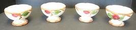 Four Vintage Franciscan China Sherbets - Apple Pattern - $33.24