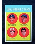 1963 Topps Baseball #537 Pete Rose [] Cincinnati Reds (RC) Repro - $3.25