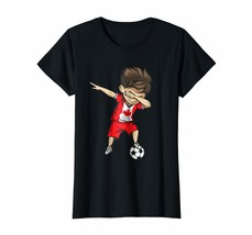 Sport Shirts - Dabbing Soccer Boy Canada Jersey Shirt - Canadian Football Wowen - $19.95+
