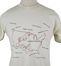 Vintage Beloit College Europe in America T-Shirt Large 1997 Sesquicenten... - $18.84