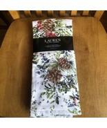 RALPH LAUREN Pine Cones Set Of 2 Kitchen Christmas Holiday Winter NWT - $15.84