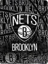 "NBA Redux Micro Raschel Throw Blanket 46"" x 60"" Brooklyn Nets - $22.76"
