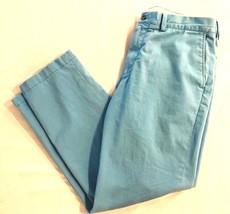 Polo Ralph Lauren Aqua Blue Mens Size 36x30 Classic Fit Chino Pants $85 - $34.31