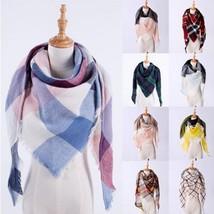 Women's Fashion Cashmere Triangle Scarf Elegant Ladies Comfortable Soft Shawl Si