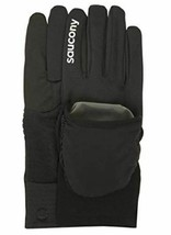 Saucony Ulti-Mitt Taille XL Extra Large Convertible Poche Thermique Gants Course