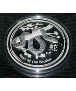2013 Australian Lunar YEAR OF THE SNAKE Silver 1 Kilo Proof Coin Series II  - $1,377.93