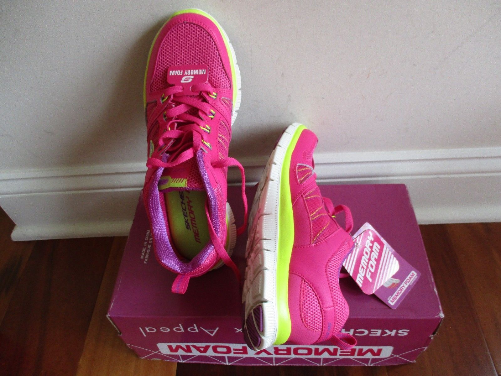 BNIB Skechers Flex Appeal - Spring Fever Womens' Athletic Shoes, ships w/o box image 11