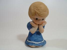 Country Cousins Figurines Enesco Vintage Porcelain 1983 girl w - $9.95