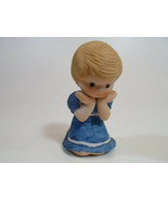Country Cousins Figurines Enesco Vintage Porcelain 1983 girl w - $9.95