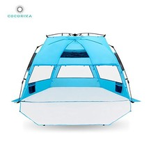 Cocorika X-Large Easy Setup Beach Tent - Automatic Pop Up 4 Person Insta... - $93.93 CAD
