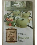 Vintage 1969 Country Inn Cookware West Bend Cookbook Beautiful Like NEW - $19.79
