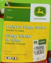 John Deere TBEK46313 Barnyard Shape Sorter Includes 14 Shapes image 6