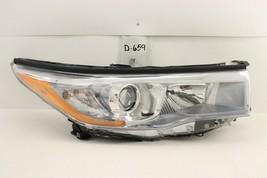 Oem Head Light Headlight Lamp Toyota Highlander 14-16 Rh 1 Mount Missing - $84.15