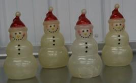 RARE Vintage Snowman Christmas Blow Mold Yard Decor Light Topper Cover - $39.59