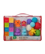 Infantino Balls, Blocks, & Buddies Activity Toy Set - $38.52
